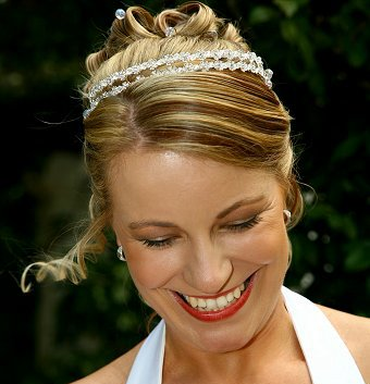 bridal hairstyles tiara. Services